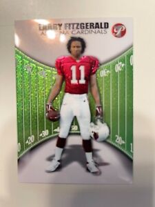 Larry Fitzgerald 2004 Topps Pristine RC 109 chrome looking /999 MINT 9 to GEM 10