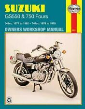 HAYNES Repair Manual - Suzuki GS550 (1976-1982) and GS750 (1976-1979)