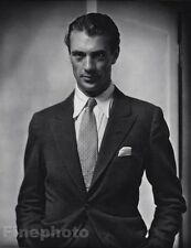 1930/63 Vintage 11x14 GARY COOPER Movie Film Actor Cinema Photo EDWARD STEICHEN