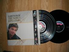 BARRY MANILOW THE SONGS 1975 - 1990 DBL. LP SET EXC