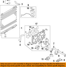 NISSAN OEM-Radiator Coolant Overflow Tank Recovery Bottle 21710JK000