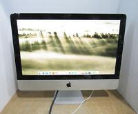 "Apple iMac A1311 21.5"" 2.5GHz Core i5-2400S 8GB RAM 500GB HDD OS 10.11 Mid 2011"