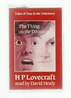 RARE/HP LOVECRAFT AUDIOBOOK/THING ON THE DOORSTEP/MINT/HORROR/CALL OF CTHULHU