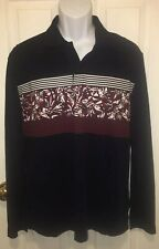 NWT Desigual Man Mens Button Long Sleeve Cotton Polo Shirt Sz L