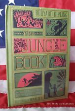 NEW SEALED Rudyard Kipling The Jungle Book Illustrated Hardcover