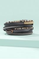 Stella&Dot Jewelry / Yves Wrap Bracelet For Women - GREY - NIB