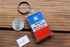 Dont Mess With Texas Plastic Thermometer Novelty Keychain Key Fob Ring