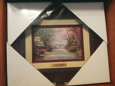 New ListingThomas Kinkade Savannah Romance 5 x 7 Framed Brushwork (Brandy Frame)
