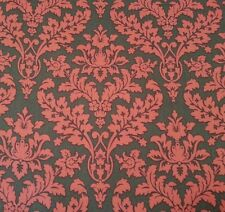 Catalina by Laura Berringer for Marcus Brothers BTY Pink Gray Damask Print