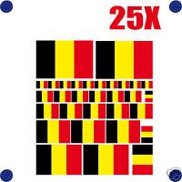 25 stickers autocollants en vinyl et mélange de tailles assortiment BELGIQUE