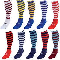 Precision Training Contrast Hoop 3 Stripe Rugby Football Sport Socks Boys - Men