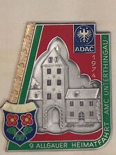 PLACCA ADAC AMC unterthingau 1974
