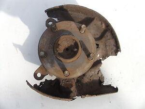 TOYOTA MR2 1989-1992 Front Right O/S R/H wheel Hub stub axle Rev1