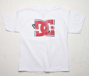 DC Shoes Boys Off Tee (L) White ADBZ000010