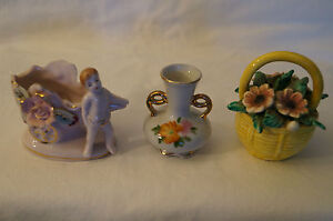 Collectable - Cute Figurines x 3.