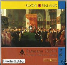 Finland   BU Euro Set   2009  Rahasarja II     RARE