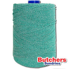 Green / White Elasticated String / Crafts / Home-Use / Butchers / Bakers / Twine
