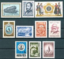 HUNGARY - 1968.Anniversaries (Marx,Train,Costumes,Human Rights Year) MNH!
