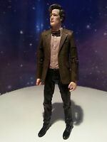 """DOCTOR WHO 11TH DR WITH RED BOW AND STRIPPED SHIRT TIE MATT SMITH 5"""" FIGURE"""