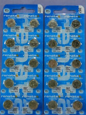 Renata   357  SR44W  Batteries  Button Cell ,20Pcs