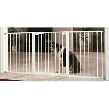 Command Pet PG6324 24 in. Custom Fit Gate Extension White