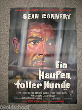 EIN HAUFEN TOLLER HUNDE -KINOPLAKAT A1- THE HILL Sean Connery Harry Andrews