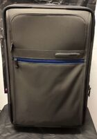 NEW Tumi Blue/Grey International Expandable 2-Wheeled Carry On Travel Bag 223020