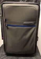 NEW Tumi Arctic Grey/Atlantic International Expandable 2-Wheeled Bag #223020