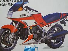 Reparaturanleitung,Werkstattbuch, YAMAHA FJ 1100, FJ 1200, ab 1984, Band 5109