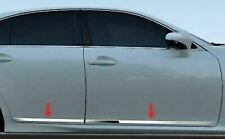 fit:2013-2020 Lexus GS350 GS450 Flat Stainless Body Side Molding Trim 4Pc 3/4""