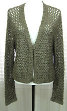 CHICO Size 3 New With Tags Lagos Open Weave Bronze Cardigan