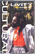 Culture - Cultural Livity : Live Culture '98 Cassette - SEALED - New Copy Reggae
