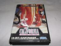 California Games Sega Mega Drive PAL *Complete*