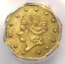 1860 Liberty California Gold Dollar Coin G$1 BG-1102 - PCGS MS62 - $1,500 Value!