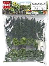 BUSCH 6590 N/Z Mischwald mit 35 Bäumen ++ NEU & OVP ++