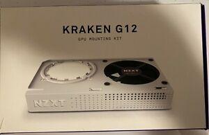 NZXT Kraken G12 GPU Mounting Kit for AIO Water Cooler - White