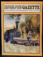 Narrow Gauge And Short Line Gazette Train Model Magazine November December 1993