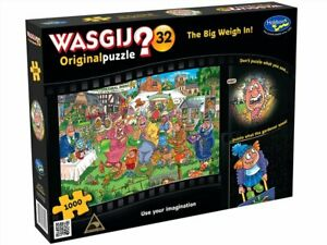 Wasgij Original 32 Big Weigh In 1000 Piece Puzzle