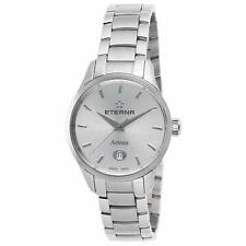 Eterna Artena Women's Steel Bracelet & Sapphire Quartz Watch