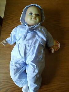 Käthe Kruse Puppe Mini Bambina  blau - Babypuppe
