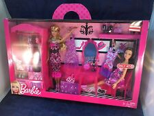 2011 BARBIE, I LOVE MY CLOSET. 2 DOLLS Fashion BOX SET NIB