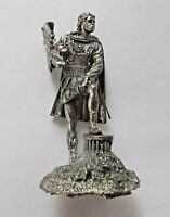1/32 Alexander the Great Greek King of Macedon Tin Metal Soldier 54mm handmade