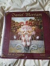 Daniel Merriam 2007 Art of Dreams RARE Out of Print New Sealed Unopened Calendar