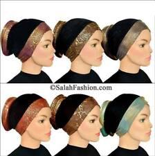 Lot of 6 Venetian Turbans hijab-Hair loss Hair Volumizer Cancer Chemo FROM USA