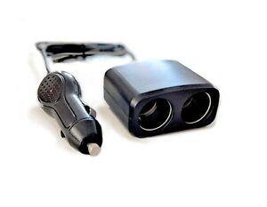 Dual Car Cigarette Lighter Splitter Charger Power Socket Adapter 12v Auto Outlet