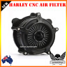 CNC Air Filter Cleaner Intake Harley softail dyna touring street road glide 2017