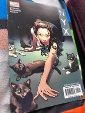 NYX #5 2004 Marvel Comics 3rd App of X-23 Quesda Teranishi Nelson