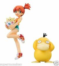 MEGAHOUSE G.E.M. SERIES POKEMON GO MISTY & TOGEPI & PSYDUCK PVC FIGURE