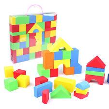 41 De colores Juego Juguetes espuma de EVA Suave Bloques De Construcción