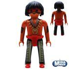 playmobil western cowboys indien rothaut figurines l'OUEST SAUVAGE